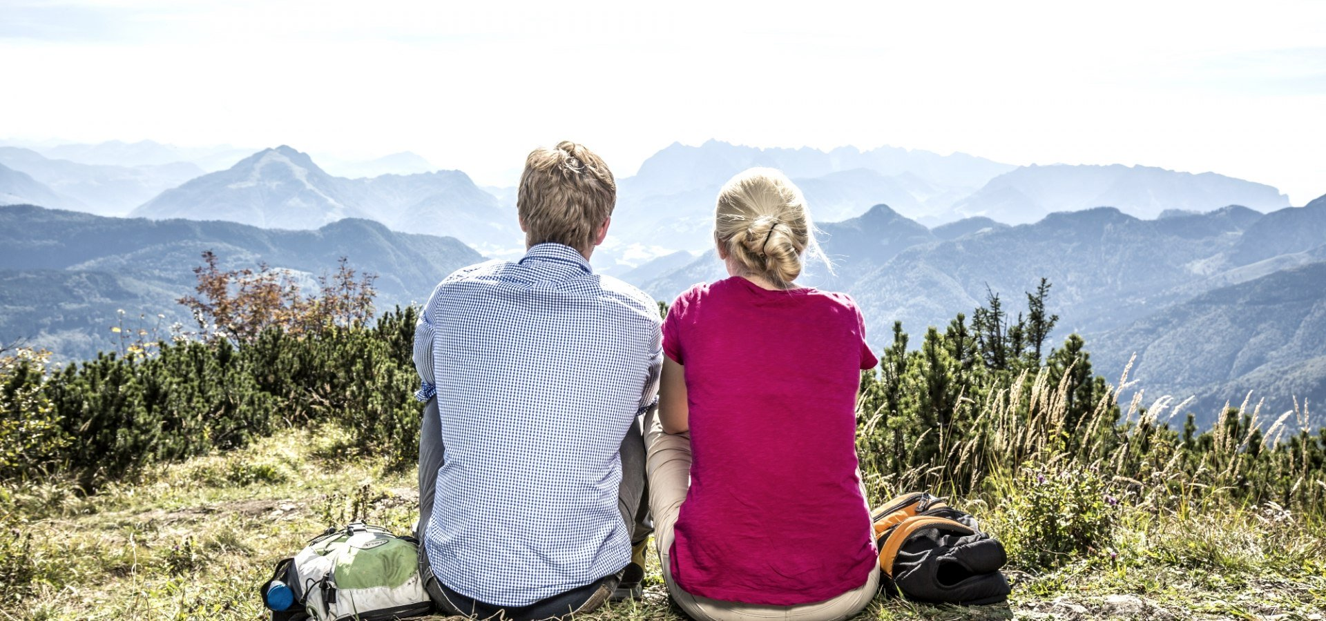 Relaxing on top of Grassau, © Chiemgau Tourismus